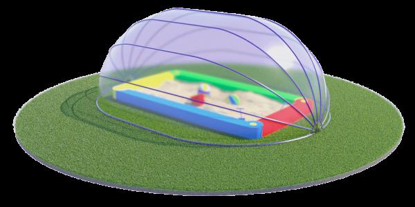 Защита от ветра в песочнице